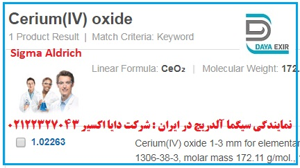 اکسید سریم- Cerium(IV) oxide- 102263